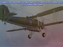 Fairey Swordfish No. 825 Sqn Lt-Cdr Esmonde