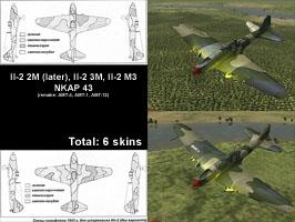 Skinpack Il-2 (2M later, 3M, M3) NKAP43 remake