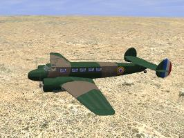 Lockheed Electra as Ju-86Z-7