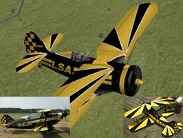 I-153 painted as Pitts S-2B Special