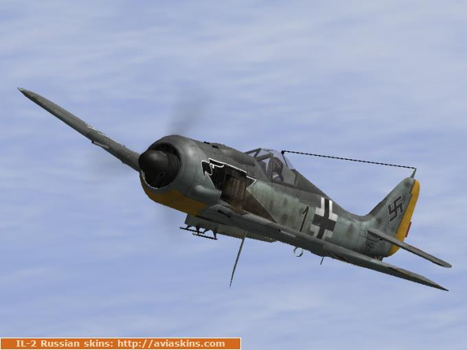 "FHC FW-190A-8 ""Black 1"" (black eagle)"