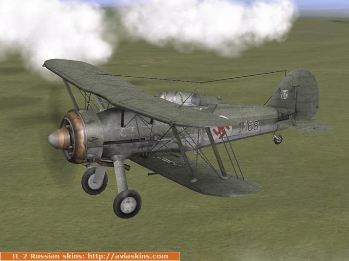 Gloster Gladiator Mk.I s/n 168, Latvian Air Force