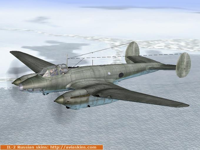 Pe-2 series 1 (winter camo)