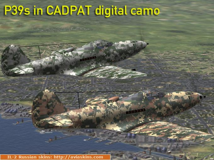 CADPAT digital camo for P39s